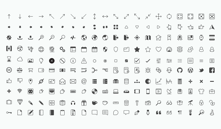 The principles and design of icon fonts  Free set included | Presslabs