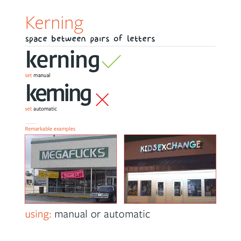 Web Typography - Typesetting Kerning