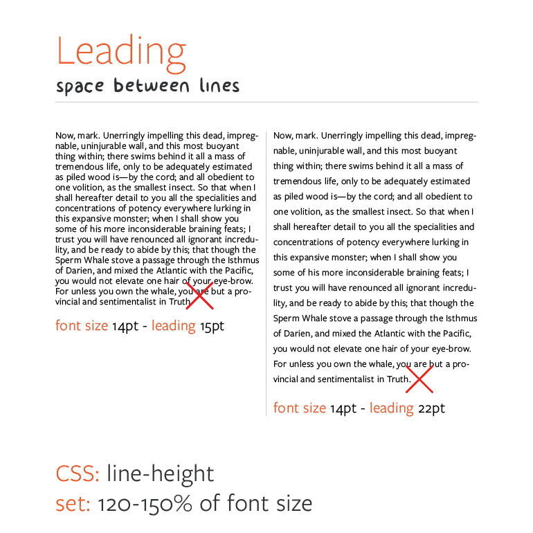 Web Typography - Typesetting Leading