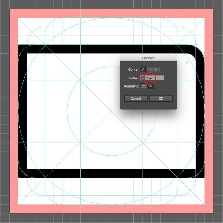 Adobe Illustrator CC - Corners