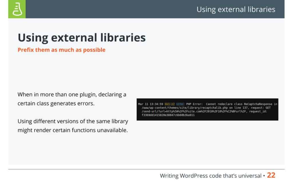 WordPress Code - Using external libraries