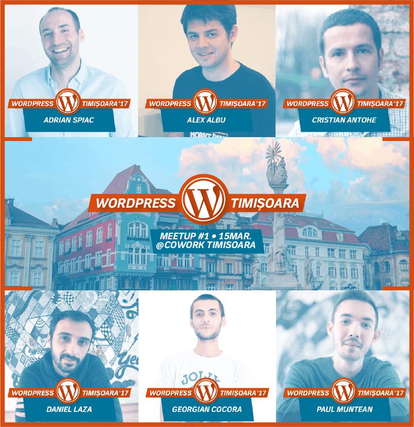 The first WordPress Meetup Timisoara