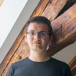 Presslabs team- Robert Stefan, junior software engineer