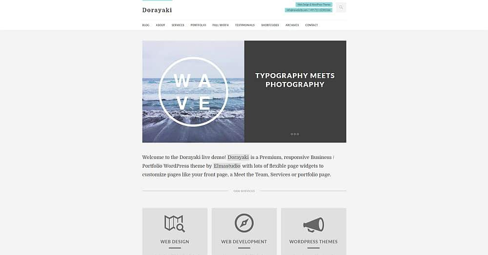 WordPress Themes - Dorayaki