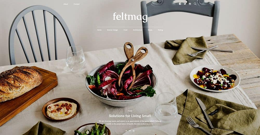WordPress Themes - Felt
