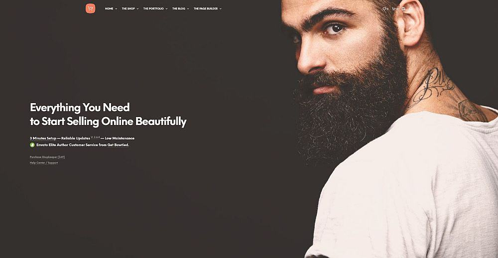 WordPress Themes - Shopkeeper