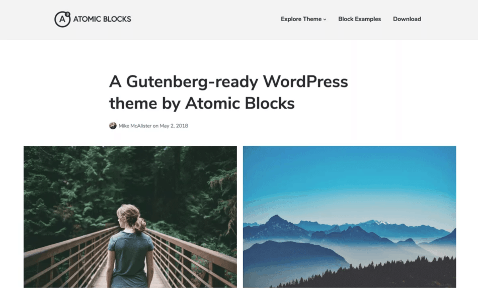 Atomic Blocks theme