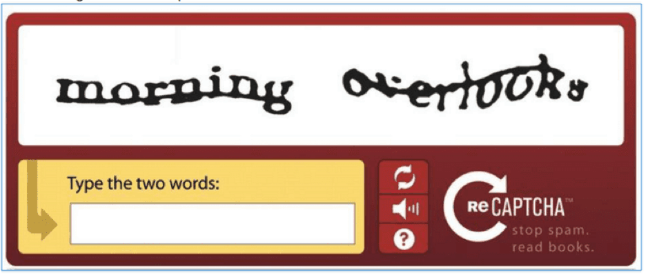 Introducing CAPTCHA and reCAPTCHA