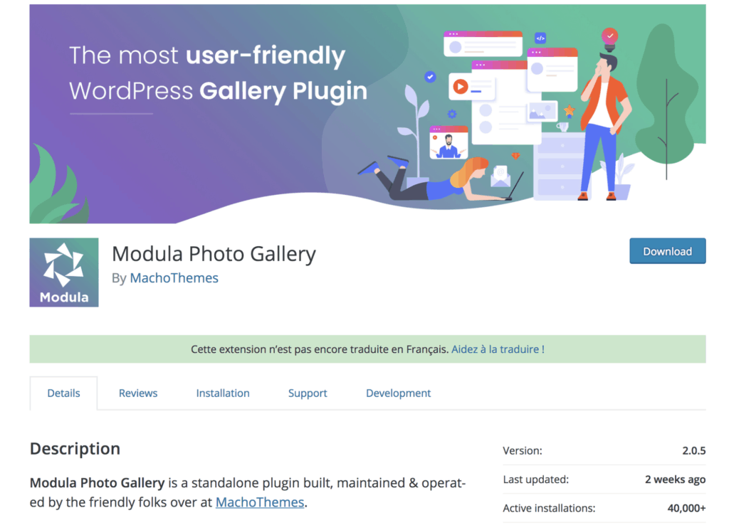Modula Image Gallery - Best WordPress Photo Gallery Plugins in 2019