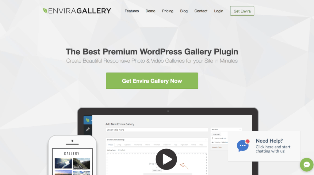 Envira Gallery - Best WordPress Photo Gallery Plugins in 2019