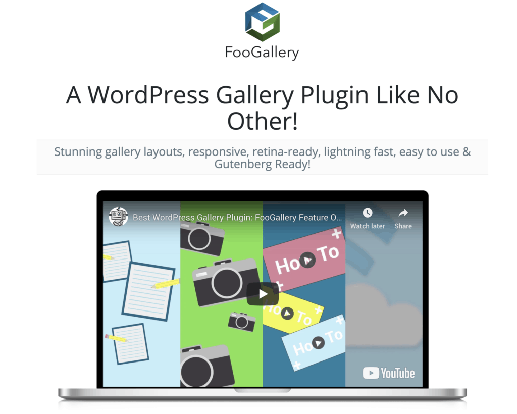 FooGallery Plugin - Best WordPress Photo Gallery Plugins in 2019
